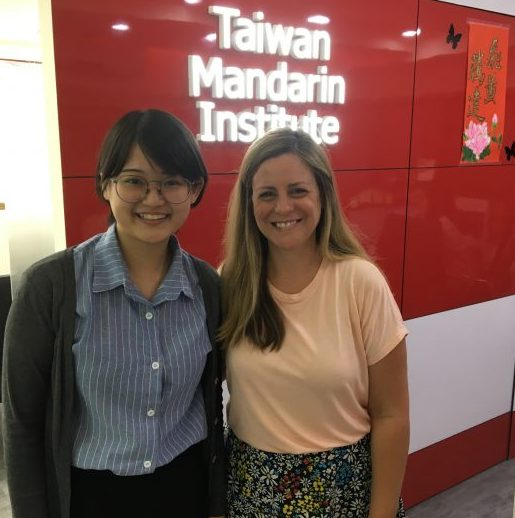 Lingo Mama in Taipei at Taiwan Mandarin Institute