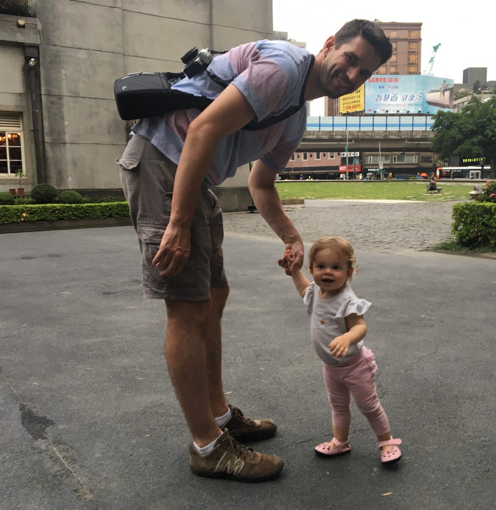 Lingo Dada and Bubba at Huashan Creative Park Taipei